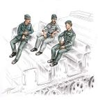 CMK F72156 German soldiers for FAMO 1:72