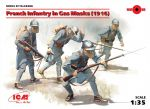 ICM 35696 French Infantry in Gas Masks (1916) 1:35