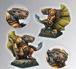 Scibor 28FM0023 Rat Warrior 28mm - Skaven