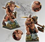 Scibor 28FM0034 Minotaur Chieftain 28mm