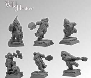 Scibor 28FM0102 Wild Hunters set2 28mm