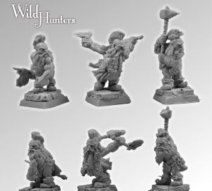 Scibor 28FM0097 Wild Hunters set1 28mm