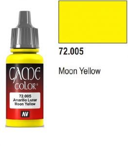 Vallejo Game Color 72005 - Moon Yellow 17ml.