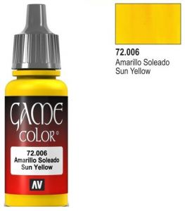 Vallejo Game Color 72006 - Sun Yellow 17ml.