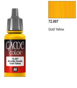 Vallejo Game Color 72007 - Gold Yellow 17ml.