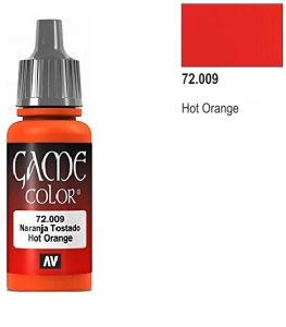 Vallejo Game Color 72009 - Hot Orange 17ml.