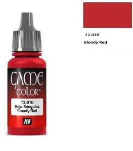 Vallejo Game Color 72010 - Bloody Red 17ml.