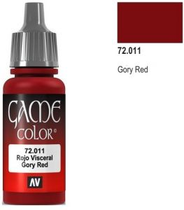 Vallejo Game Color 72011 - Gory Red 17ml.