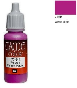Vallejo Game Color 72014 - Warlord Purple 17ml.