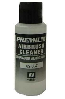 Vallejo 62067 Premium Airbrush Cleaner. 60 ml