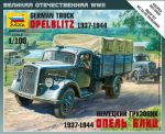 Zvezda 6126 German Truck Opel Blitz (1937-1944) 1:100 Art of Tactic