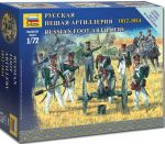 Zvezda 6809 Russian Foot Artillery 1812-1814 1:72 Art of Tactic