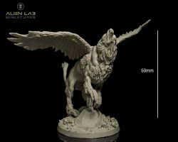 Alien Lab Miniatures SMG001 Griffin 28mm - Gryf