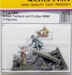 CMK F72140 British Tankers and Civilian WWII 1:72