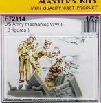 CMK F72114 US Army mechanics WW II 1:72