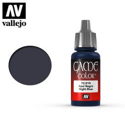 Vallejo Game Color 72019 Night Blue 17ml.