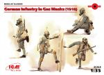 ICM 35695 German Infantry in Gas Masks (1918) 1:35