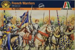 Italeri 6026 French Warriors [100 Years War] 1:72