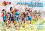 Mars 72039 French Infantry and Guards (Thirty Years War) 1:72