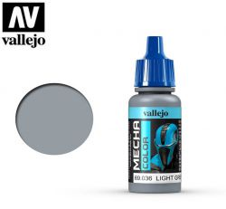 Vallejo Mecha Color 69036 Light Grey 17ml - Farba do aerografu