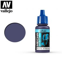 Vallejo Mecha Color 69013 Titan Blue 17ml - Farba do aerografu