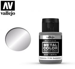 Vallejo Metal Color 77702 Duraluminum 32ml - Metalizer do aerografu