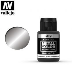 Vallejo Metal Color 77720 Gunmetal grey 32ml - Metalizer do aerografu