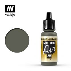 Vallejo Air 71012 Dark Green 17ml.