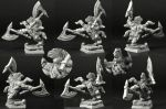 Scibor 28FM0317 Dwarf Wild Chieftain #4 28mm - Krasnolud