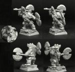 Scibor 28FM0318 Dwarf Wild Chieftain #5 28mm - Krasnolud