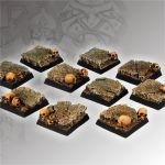 Scibor BSCH0015 Squalid Ground Square Bases 20mm