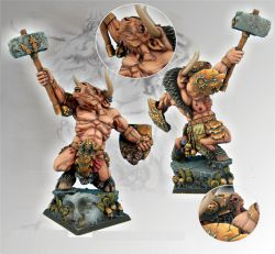 Scibor 28FM0035 Minotaur Warrior 28mm
