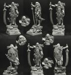 Scibor 28FM0346 High Elf Lord 28mm