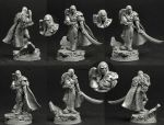 Scibor 28FM0348 Sci Fi Elf Lord 28mm - Wood Elf
