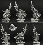 Scibor 28FM0351 Sci Fi Elf Lord 28mm - Wood Elf