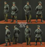 Scibor 35HM0013 Polish FT17 Tank Crew set 1:35