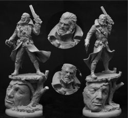 Scibor 54FM0027 Vampire Hunter 54mm