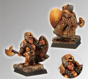 Scibor 28FM0011 Dwarf Female Gertrude 28mm