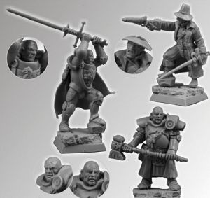 Scibor 28FM0084 Fantasy Characters set1 28mm
