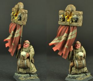 Scibor 28FM0124 Town Guard Monk 28mm - Mnich
