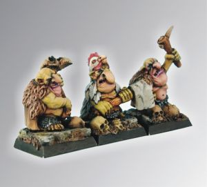 Scibor 28GB0012 Goblin Warriors [3szt] 28mm
