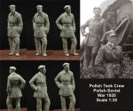 Scibor 35HM0010 Polish FT17 Tank Crew 1:35