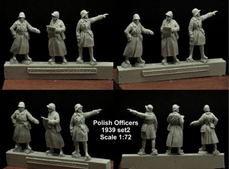 Scibor 72HM0018 Polish Officers 1939 Set #2 1:72