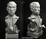 Scibor 28CM0014 H.P. Lovecraft Bust height 225mm - Popiersie