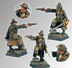 Scibor 28FM0083 Vampire Hunter 28mm