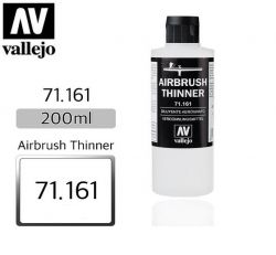 Vallejo 71161 Airbrush Thinner 200ml - rozcieńczalnik do aerografu