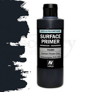Vallejo 74603 Surface Primer German Panzer Grey. 200ml.