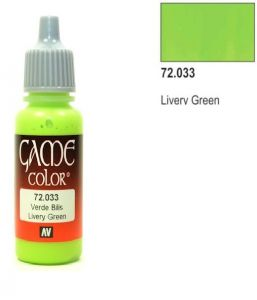 Vallejo Game Color 72033 - Livery Green 17ml.