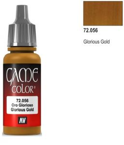 Vallejo Game Color 72056 - Glorious Gold 17ml.