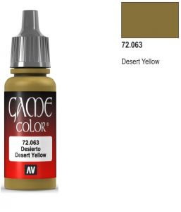 Vallejo Game Color 72063 - Desert Yellow 17ml.